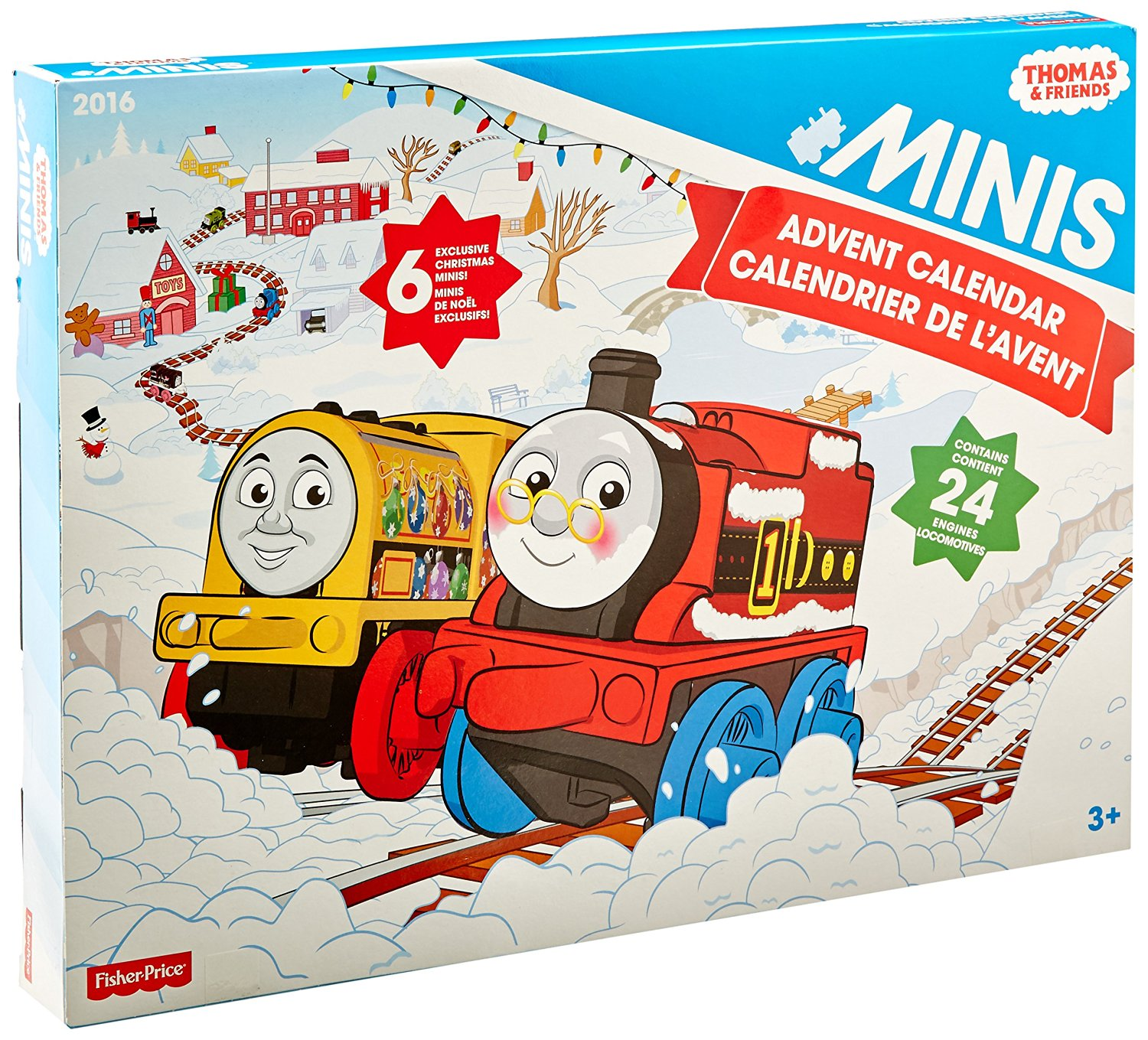 Fisher Price Thomas The Train Minis Advent Calendar Only