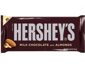 Friday Freebies – Free Hershey's Milk Chocolate With Almonds Bar