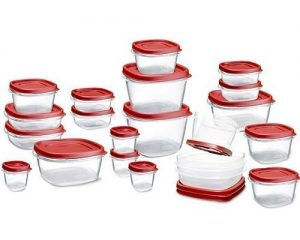 Rubbermaid Easy Find Lids Food Storage Container, 42-piece Set Only $9.95!