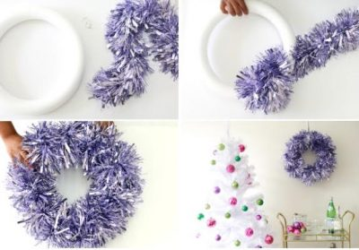 peppermint candy wreath many upscale stores sell similar wreaths but you can make one for almost nothing this wreath found on hum ideas