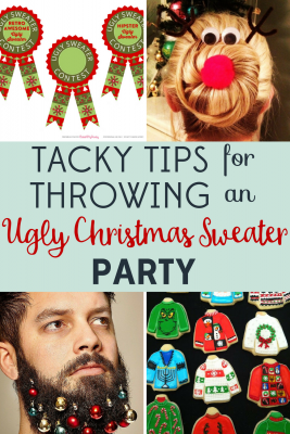 Why host tasteful holiday events when you can throw an Ugly Christmas Sweater Party? We've got tips for a delightfully tacky celebration!