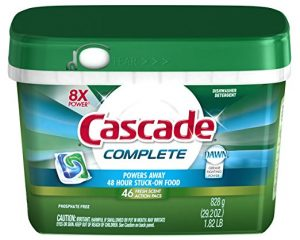 Cascade Complete ActionPacs Dishwasher Detergent Fresh Scent 46 Ct Only $6.69!