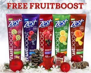 Thursday Freebies – Free Zest Fruitboost Shower Gel!