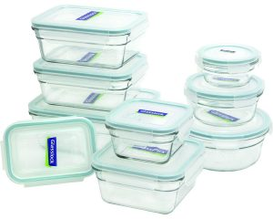 Glasslock 18-Piece Assorted Oven Safe Container Set Only $25.99!
