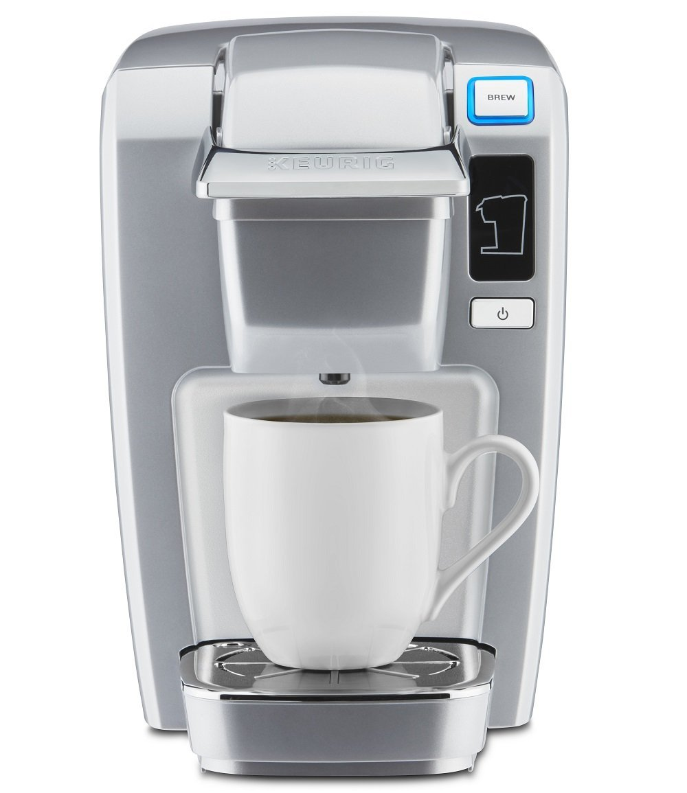 Keurig K15 Single Serve Compact K-Cup Pod Coffee Maker ...