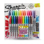 Sharpie Color Burst Permanent Markers, Fine Point, 24-Count Only $8.54!