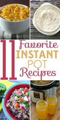Are you intimidated by the Instant Pot? Here are 11 favorite Instant Pot recipes that will make it the most used appliance in your kitchen!