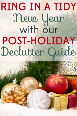 Set yourself up for success with our post-holiday declutter guide! You'll be organized and ready for the next holiday season.