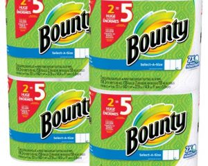 Bounty Select-a-Size Paper Towels, White, Huge Roll, 8 Count Only $13.99!