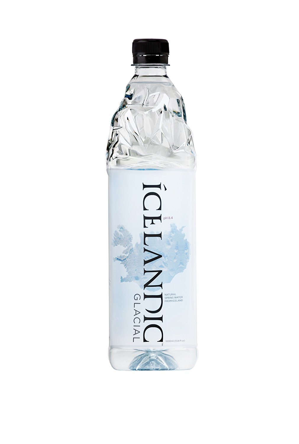 Icelandic Glacial Natural Spring Water Liter Count Only