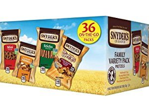 Snyder's of Hanover Pretzel Variety Pack, 36 Count Only $8.04!