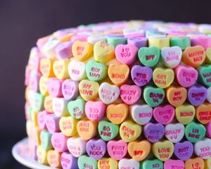 How Sweet! Valentine's Day Crafting With Conversation Hearts