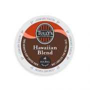 Prime Deal: Tully's Coffee K-Cups, Hawaiian Blend, 24 Count (Pack of 4) Only $42.66!