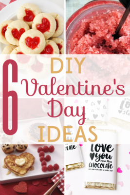 Forget expensive Valentine's Day gifts! These 6 DIY Valentine's Day ideas will warm the hearts of everyone you love!