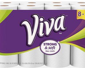 Viva Paper Towel 8 pack for $9.99