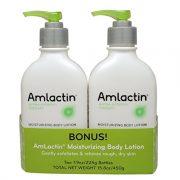 AmLactin Alpha-Hydroxy Therapy Moisturizing Body Lotion, 15.8oz Twin Pack Only $15.73!