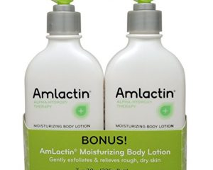 AmLactin Alpha-Hydroxy Therapy Moisturizing Body Lotion, 15.8oz Twin Pack Only $15.73!