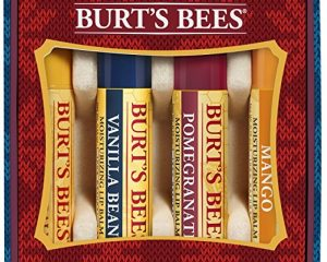 Burt's Bees Beeswax Bounty Holiday Gift Set, 4 Lip Balms, Assorted Flavors Only $6.29!
