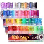 Gelmushta Gel Pens, 120 Unique Colors, Only $18.60!