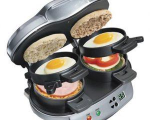 Hamilton Beach Dual Breakfast Sandwich Maker Only $24.99!