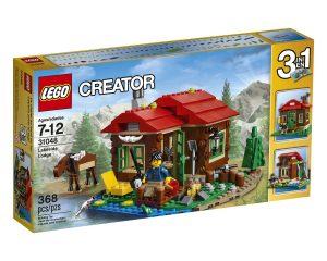 Lego Creator Lakeside Lodge, $19.19