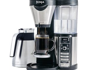 Ninja Coffee Bar Brewer, Thermal Carafe with Ninja 18 oz. Insulated Tumbler Only $121.99!