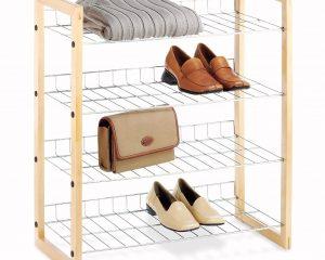Whitmor 4 Tier Shoe Shelf, only $17.94