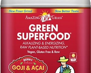 Amazing Grass Green SuperFood Berry, 100 Servings, 28.2 Ounces Only $21.51!