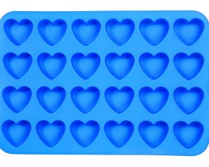 Wilton Easy Flex Heart 24-Cavity Silicone Mold Only $6.77!