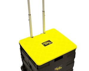 Quik Cart Collapsible Two-Wheeled Rolling Utility Cart $19.55