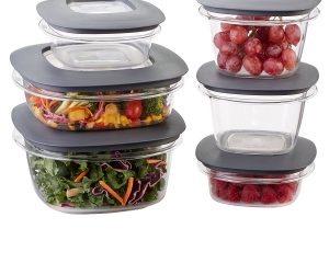 Rubbermaid  Premier Food Storage 12 piece set $14.77