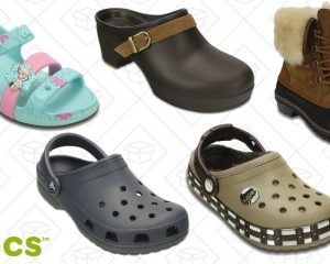 Up to 50% off select Crocs for the Family!