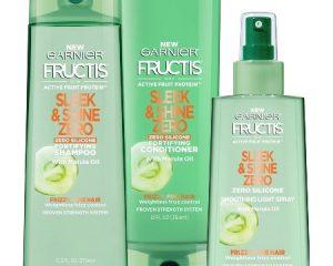 Saturday Freebies – Free Garnier Fructis Sleek & Shine Zero Samples!