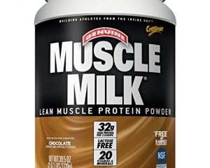 Muscle Milk Genuine Chocolate Protein Powder $14.41