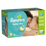 Pampers (Size 4) 128 count $22.95