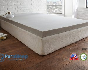 PuraSoft Carbon Comfort Memory Foam Mattress Toppers Only $89.99 to $149.99!