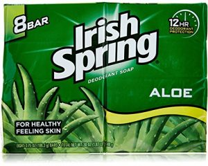 Irish Spring Aloe 8 count bar soap $3.97