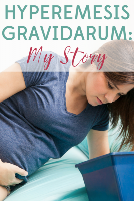 Hyperemesis Gravidarum is a dangerous and scary pregnancy condition. This is my story of Hyperemesis Gravidarum and how I got through it.