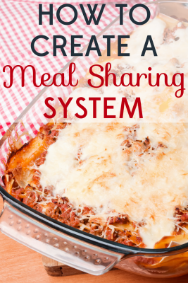 Anyone who's gone through tough times knows what a blessing a gift of a meal can be. We've got tips for how to create a meal sharing system.
