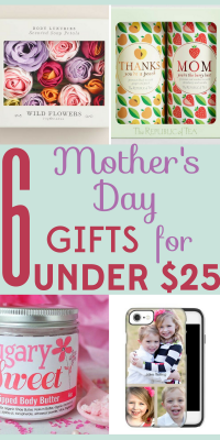 You want to make your mom happy, but you don't want to break the bank! We've got 6 Mother's Day gifts she'll love for under $25!