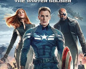 Captain America the Winter Soldier DVD $8.25