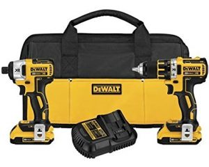 Dewalt Max XR Compact Drill/Driver & Impact Driver Combo Kit $179