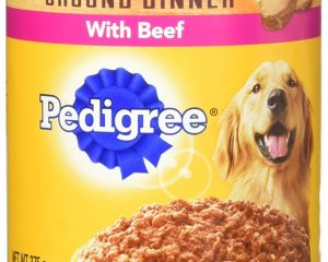 Pedigree Chopped Ground Dinner 12 pack Filet Mignon & Beef $8.98
