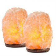 Hemingweigh Himalayan Glow Salt Lamps, 2 pack $23.99