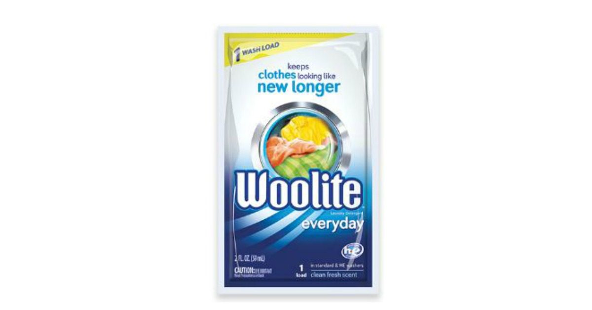 Saturday Freebies - Free Woolite Sample at Walmart!