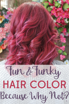 You only live once, so what are you waiting for? Get that funky hair color you've always wanted! Find out how much fun it is to be bold!