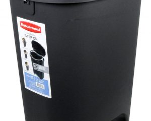 Rubbermaid Step-On Wastebasket Trash Can, 13-Gallon $19.97