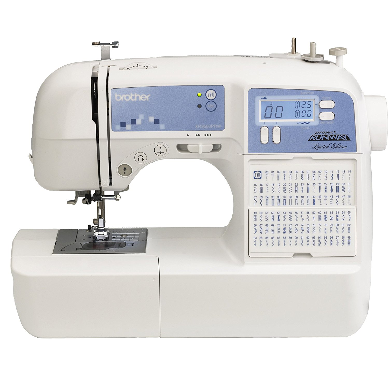 prime deal  brother project runway limited edition sewing machine only  121 23
