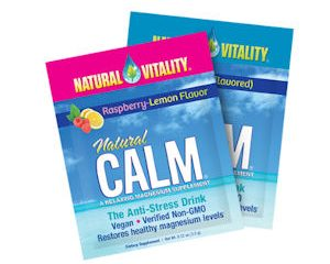 Tuesday Freebies-Free Sample of Natural Vitality Natural Calm Drink