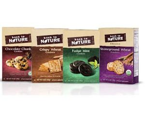 Thursday Freebies-Free Back to Nature Cookies or Crackers for select customers